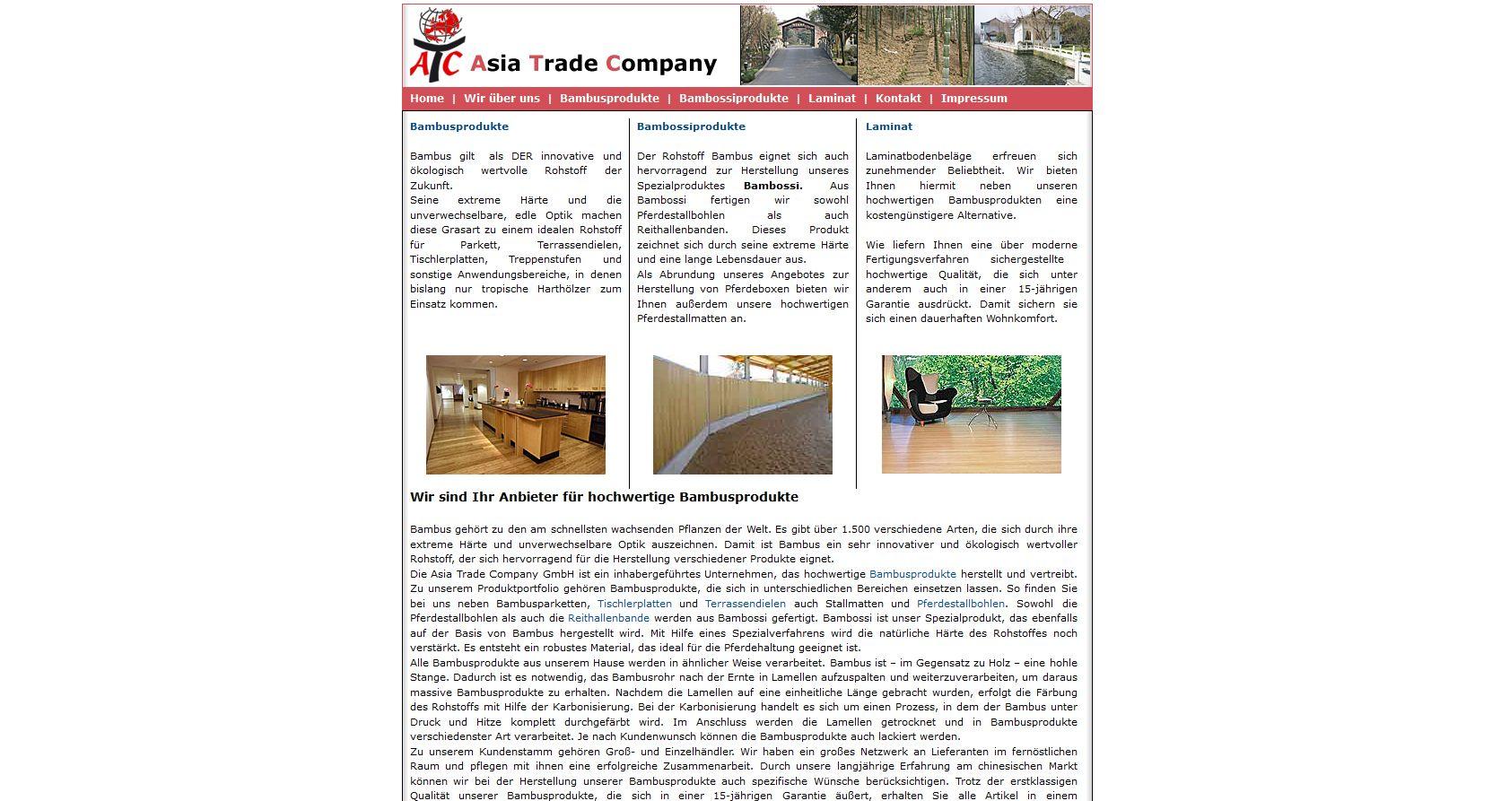 neuer onlineshop f r bambusparkett terrassendielen. Black Bedroom Furniture Sets. Home Design Ideas