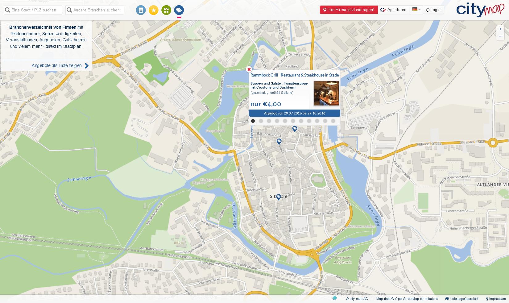 Angebote im city-map Marktplatz